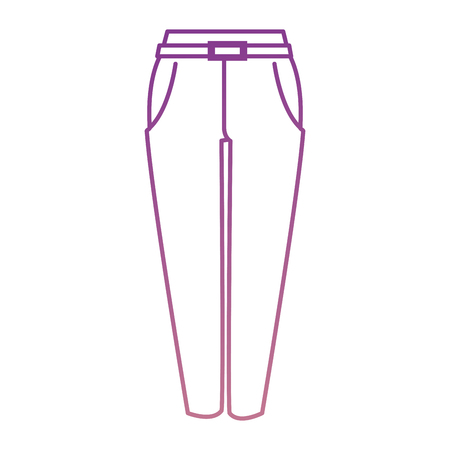 elegant pants for women vector illustration design