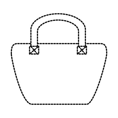 A female elegant handbag icon vector illustration design Illustration