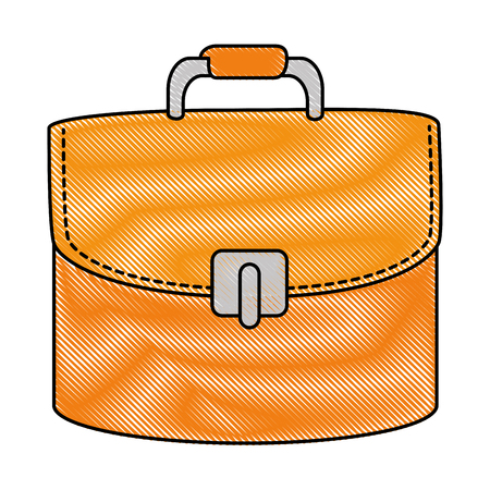 female elegant handbag icon vector illustration design Illustration