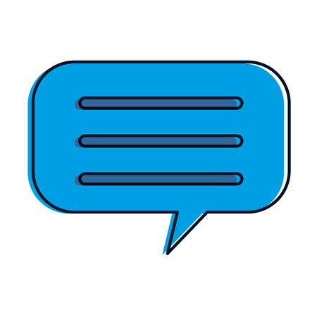 speech bubbles isolated icon vector illustration design Ilustração