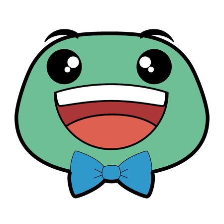 happy emoji face icon vector illustration design