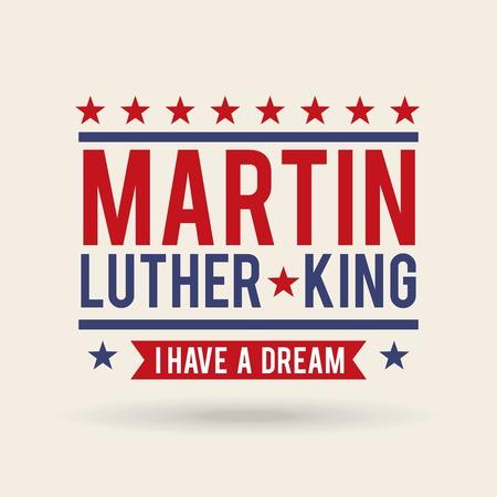 マーティン・ルーサー・キング・ホリデーカードコンセプトデザイン。