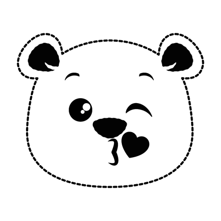 Panda mignon belle conception d & # 39 ; illustration vectorielle emoji Banque d'images - 91391007