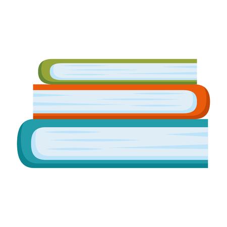 books school isolated icon vector illustration design Ilustração