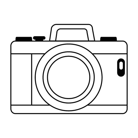 camera photographic isolated icon vector illustration design Stock fotó - 91392002