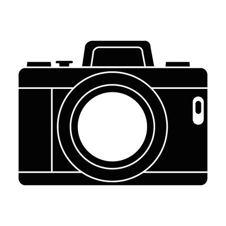 Camera fotografische geïsoleerde pictogram vector illustratie ontwerp Stockfoto - 91398286
