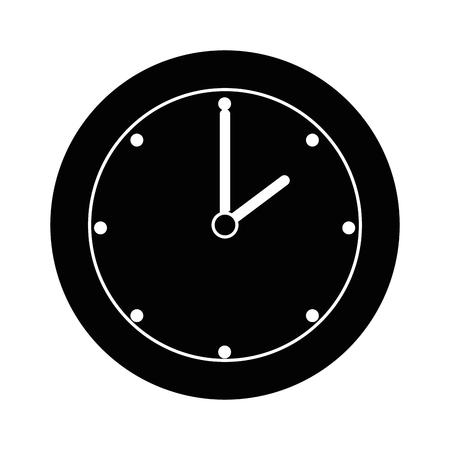 Zeituhr isoliert Symbol Vektor-Illustration , Design , Standard-Bild - 91398292
