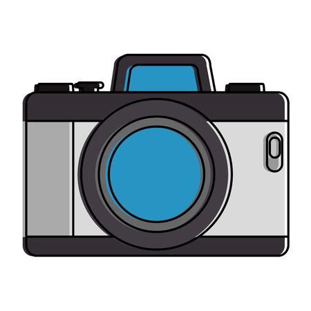 Camera fotografische geïsoleerde pictogram vector illustratie ontwerp Stockfoto - 91397544