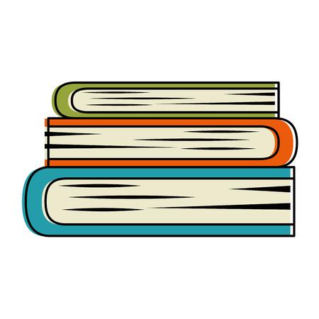 books school isolated icon vector illustration design Иллюстрация
