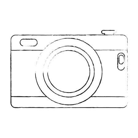 Camera isolated icon illustration design.