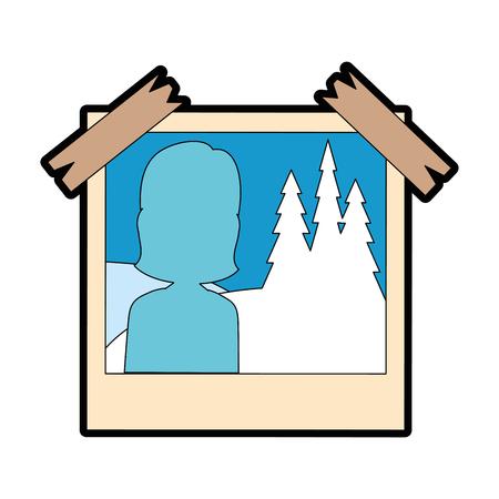 Picture isolated icon illustration design. 일러스트