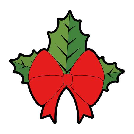 Bowtie ribbon isolated icon illustration design.