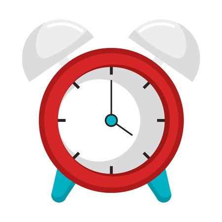 Wecker Uhr isoliert Symbol Vektor-Illustration , Design , Standard-Bild - 91416893