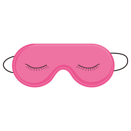 sleeping mask isolated icon vector illustration design