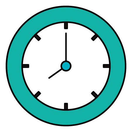 time clock isolated icon vector illustration design 版權商用圖片 - 91436383