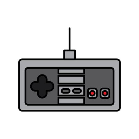 비디오 게임 콘솔 조이스틱 컨트롤 단추 벡터 일러스트 레이션 스톡 콘텐츠 - 91423006