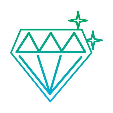 비디오 게임 다이아몬드 복고풍 디자인 벡터 일러스트 레이션