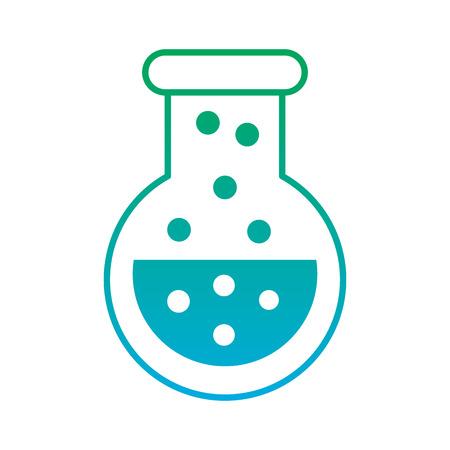 video game flask potion elixir power vector illustration