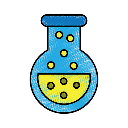 Flask potion drawing