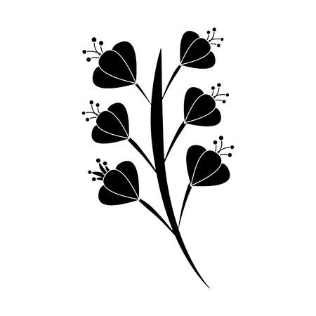 아름 다운 꽃 꽃 잎 그림입니다. 일러스트