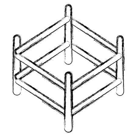 bois boulier isolé icône