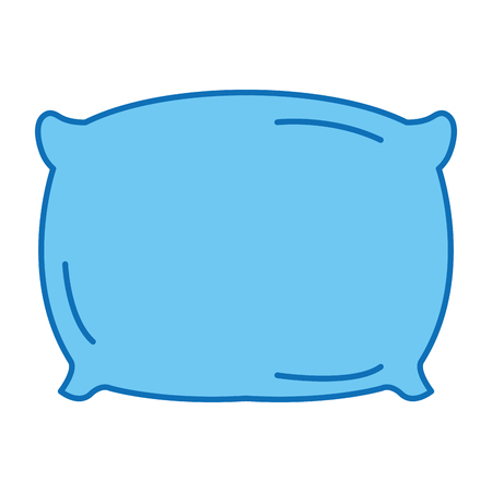 Pillow isolated icon vector illustration design