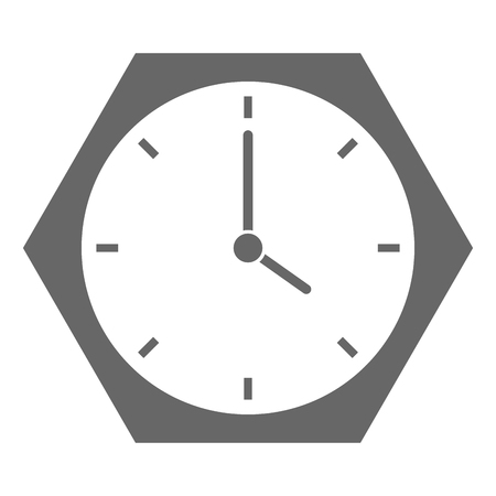 time clock isolated icon vector illustration design 版權商用圖片 - 91441666