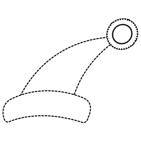 睡眠帽子分離アイコンベクトルイラストデザイン