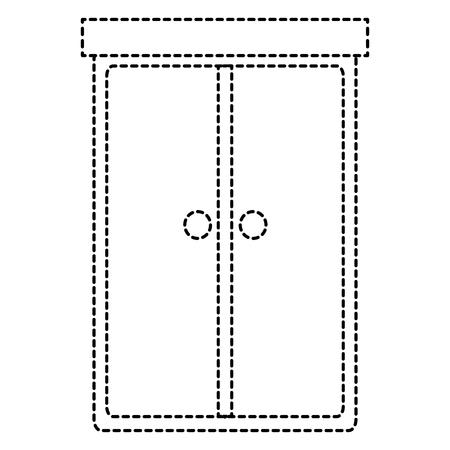 closet bedroom isolated icon vector illustration design