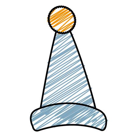 Cappello da letto isolato icona illustrazione vettoriale illustrazione Archivio Fotografico - 91451798