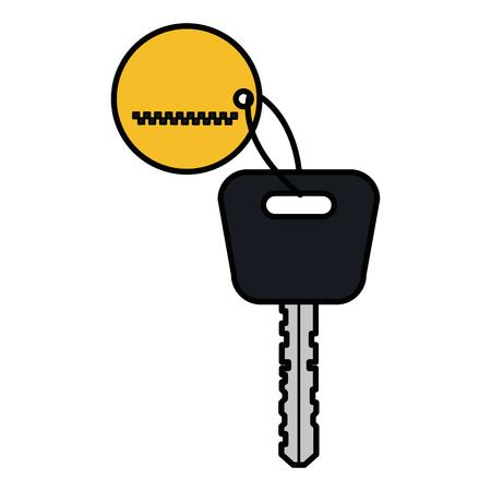 Chave de carro isolado ícone vector ilustração design Foto de archivo - 91476039
