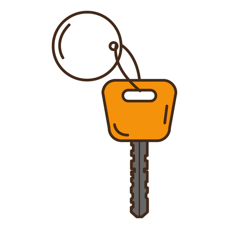 car key isolated icon vector illustration design