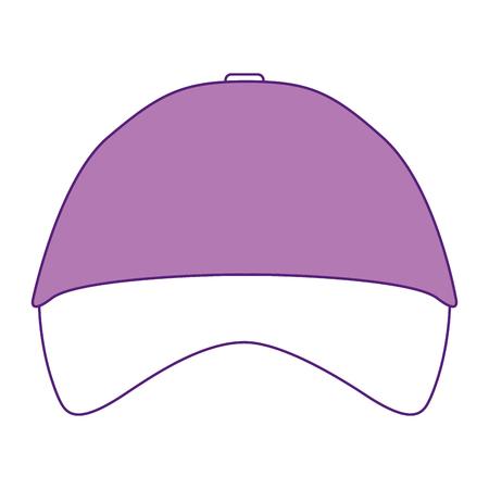 promotional souvenir baseball cap identity corporate empty template vector illustration