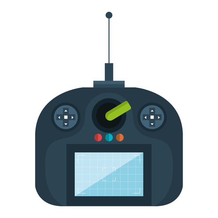 drone remote control icon vector illustration design Illustration