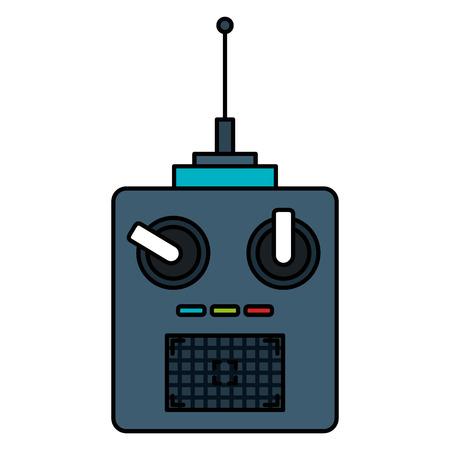 drone remote control icon vector illustration design Ilustração
