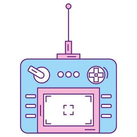 drone remote control icon vector illustration design Çizim