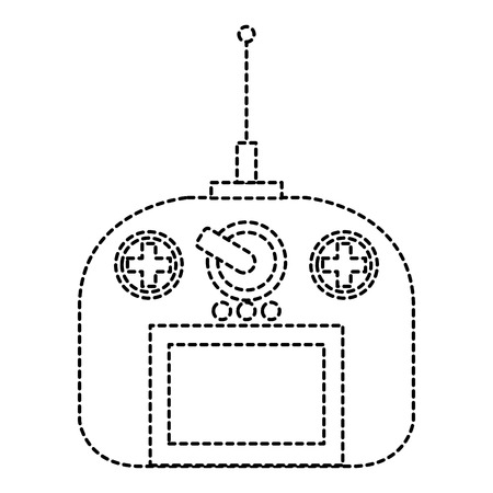 drone remote control icon vector illustration design Illustration