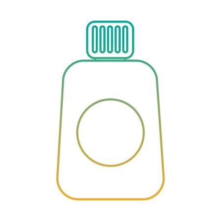 Un produit de protection de la bouteille cosmétique de protection du vin illustration vectorielle Banque d'images - 91582449
