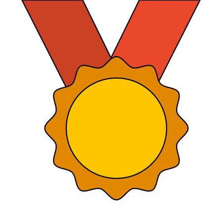 賞メダルリボン受賞者スポーツベクトルイラスト