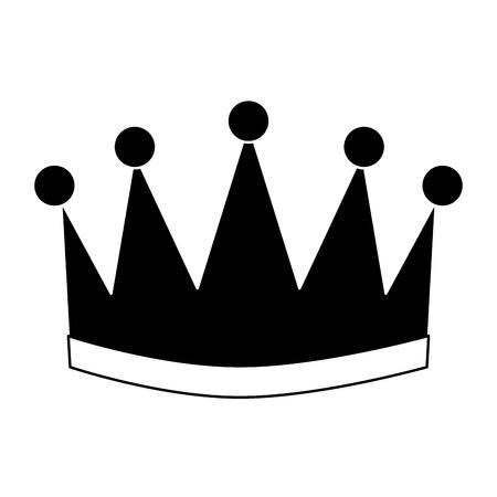 Coroa de vencedor isolado ícone vector ilustração design Foto de archivo - 91840144