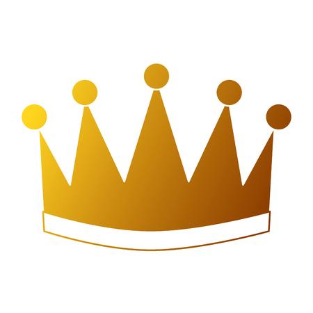 Ganador corona aislado icono vector ilustración diseño Foto de archivo - 91841484