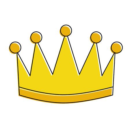 winner crown isolated icon vector illustration design