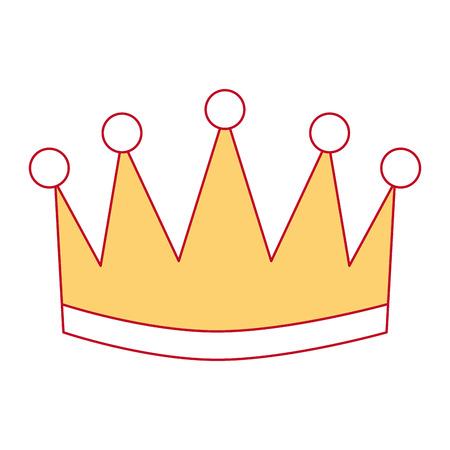 Ganador corona aislado icono vector ilustración diseño Foto de archivo - 91869601