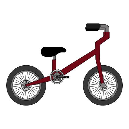 Progettazione dell'illustrazione di vettore dell'icona isolata bicicletta della montagna Archivio Fotografico - 91865291