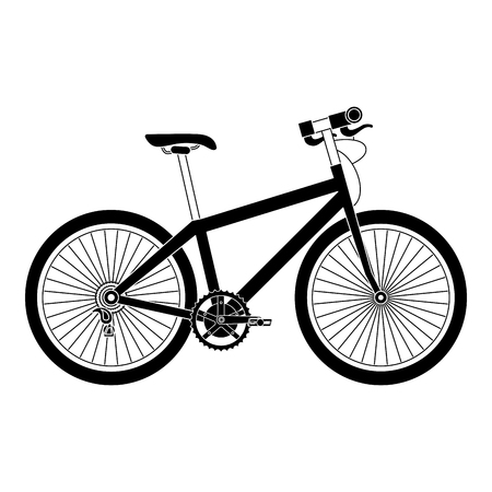 Sport bicycle isolated icon vector illustration design Stock Vector - 91857153