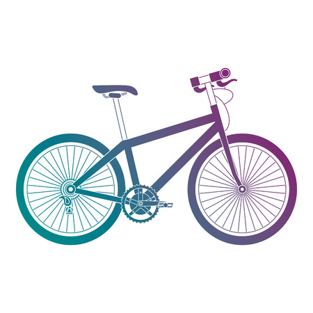 A sport bicycle isolated icon vector illustration design Illustration