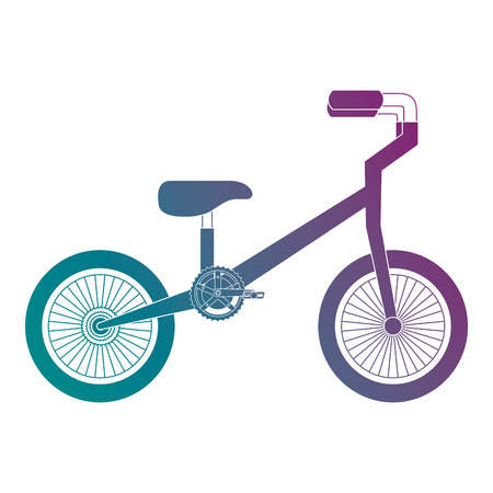 A mountain bicycle isolated icon vector illustration design