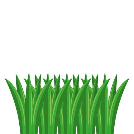 Het gras cultiveerde het geïsoleerde ontwerp van de pictogram vectorillustratie
