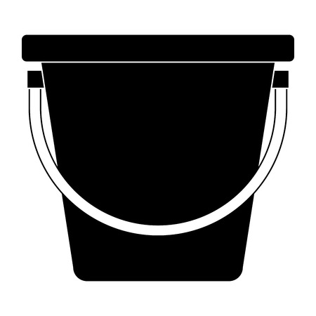 plastic bucket isolated icon vector illustration design Фото со стока - 91870908