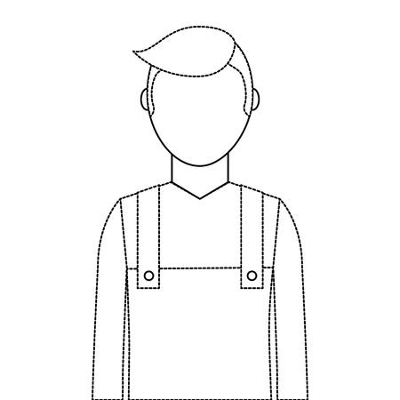 Gardener avatar character icon vector illustration design Banco de Imagens - 91874011